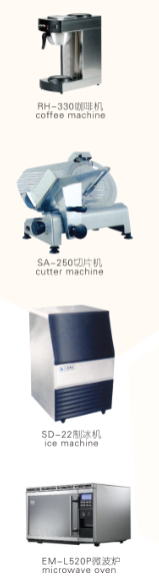 Coffee machine/cutter machine/ice machine etc