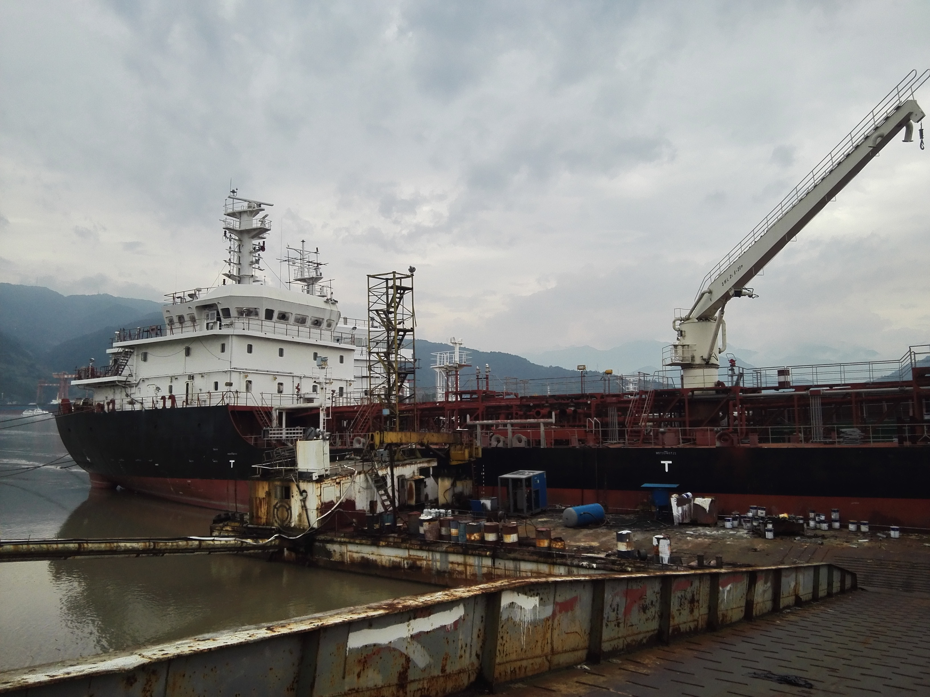 3500dwt bunker tanker for resale.