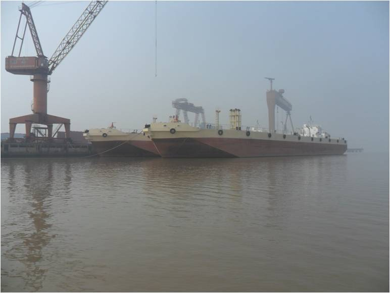 6140cbm Oil Barge for resale.