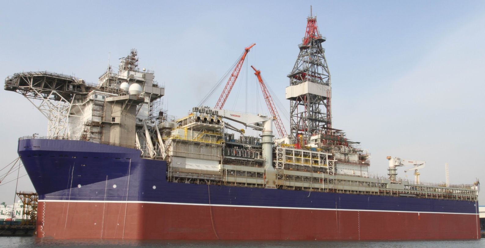 Newbuilding Drill ship for resale